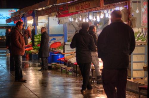Bostancı fish market, Balık çarşısı, Istanbul, pentax kx