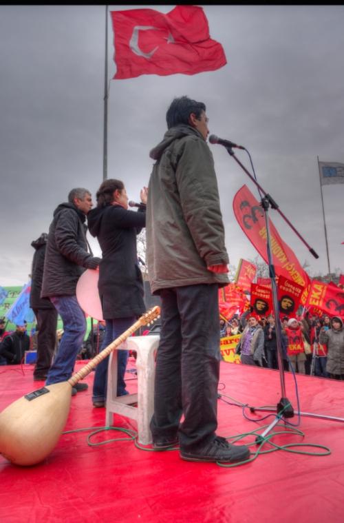 Women's Day Celebration, Kadınlar Günü Kutlamaları, Kadıköy-Istanbul, pentax kx