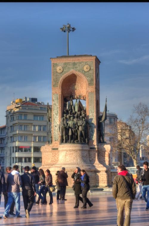 Taksim, İstanbul, pentax kx