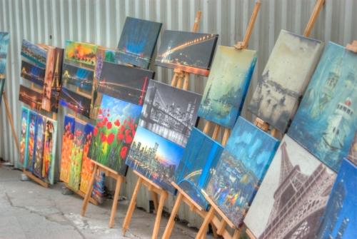 street artist, istanbul, pentax k10d