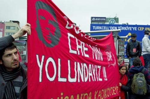 events for general elections on 12.june.2011, Genel seçimler için gösterileri , Istanbul-Kadikoy,  pentax kx