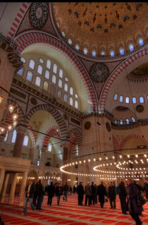 Suleymaniye Camiii, Suleymaniye Mosque, Istanbul, pentax kx