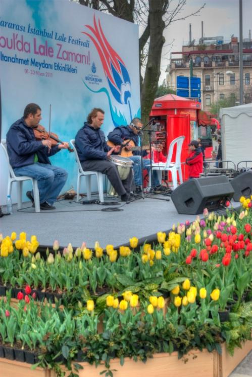 istanbul tulip festival, istanbul lale festivali 2011, sultanahmet-istanbul, pentax k10d