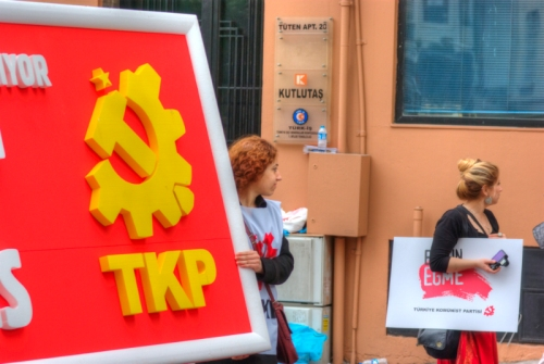 May Day 2011,  1 Mayıs 2011, Taksim-Istanbul, pentax k10d