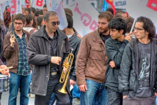 May Day 2011 at Istanbul, 1 Mayıs 2011, Taksim, pentax kx