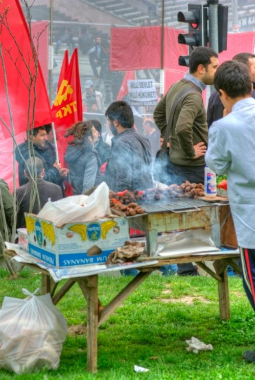 1 Mayis 2011, May Day 2011, Taksim-Istanbul, pentax k10d