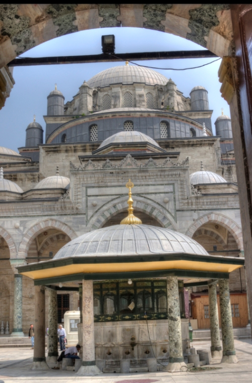 Istanbul, Beyazid Camii
