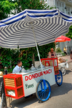 ice-cream seller