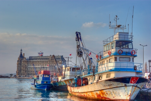 Haydarpasa port, Istanbul, pentax k10d