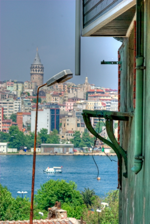 Galata tower view from Suleymaniye,  Istanbul, pentax k10d