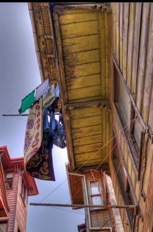 Old streets of Suleymaniye , Istanbul, pentax kx