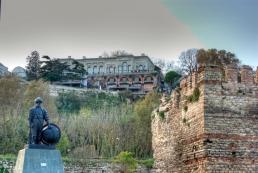 Istanbul walls, pentax k10d