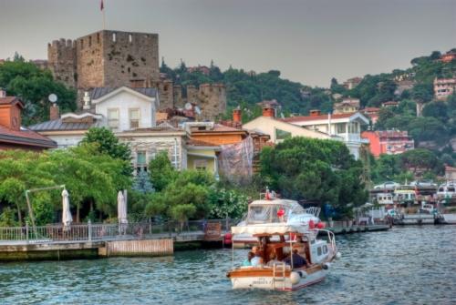 Anadolu Hisari and Kücüksu River,  Istanbul, pentax k10d