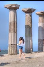 Assos-Behramkale, Çanakkale, temple of Athena, by ozgur ozkok, pentax kx