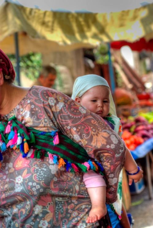 open market of Ayvacik, Assos-Canakkale, pentax k10d
