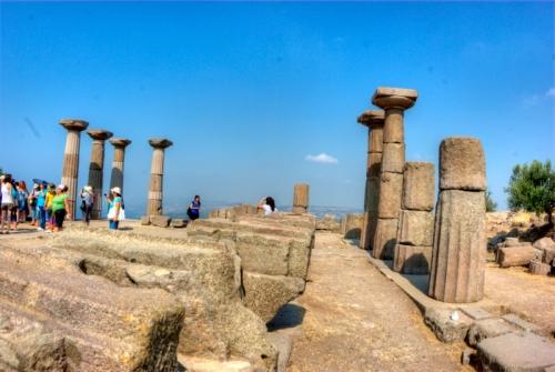 Temple of Athena, Assos-Canakkale, pentax k10d