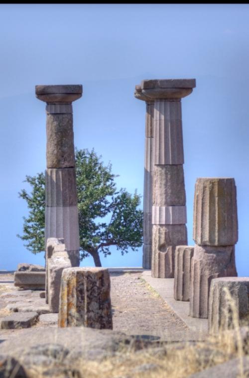 Temple of Athena, Assos-Canakkale, pentax kx