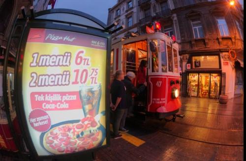 Tramvay of Beyoglu, pentax kx, by ozgur ozkok, Istanbul