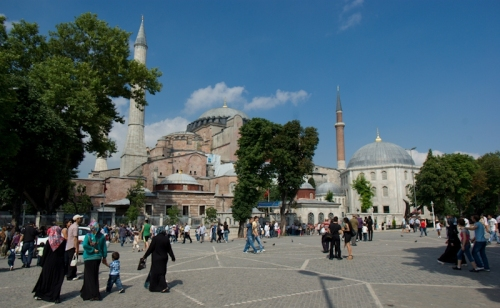 Sultanahmet Meydanı ve Ayasofya Müzesi, Sultanahmet Square and Hagia Sophia Museum, pentax k10d, Istanbul , by ozgur ozkok