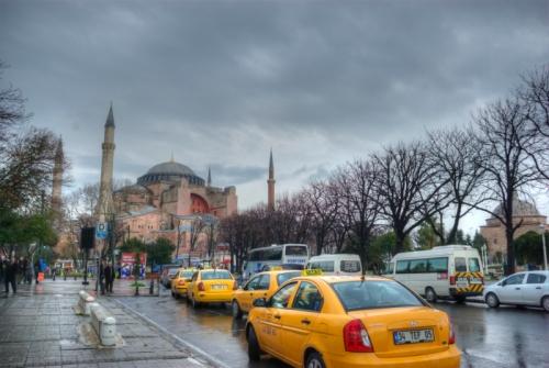 Hagia Sophia and Sultanahmet Square,  Ayasofya müzesi ve Sultanahmet meydanı, Istanbul-Turkiye,  pentax k10d, photos by ozgur ozkok