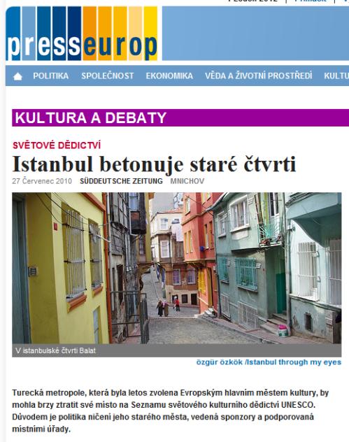 Istanbul betonuje staré čtvrti , photos by ozgur ozkok