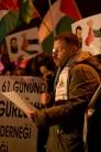 Supportes of Khader Adnan, Taksim-Istanbul, pentax kx, photos by ozgur ozkok