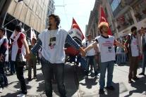 Commemoration of Atatürk , National Youth and Sports Day , (Atatürk'ü Anma Gençlik ve Spor Bayramı), 19.Mayis.2012, Taksim-İstanbul, pentax k10d, photos by ozgur ozkok