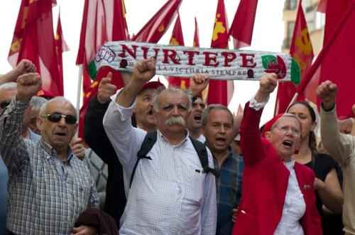 1 Mayis 2012, Taksim-İstanbul , photos by ozgur ozkok