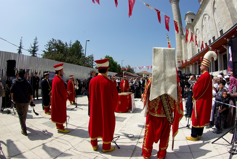 Mehter gösterisi, Mehter show, Fatih Camii, photos by ozgur ozkok, pentax k10d