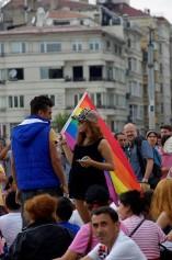 LGBT Pride Parade , Taksim Square, photos by ozgur ozkok