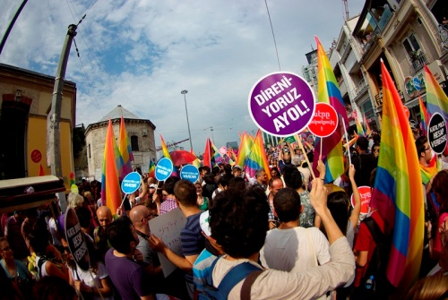 LGBT pride day, Taksim-Istanbul, photos by ozgur ozkok, pentax k10d